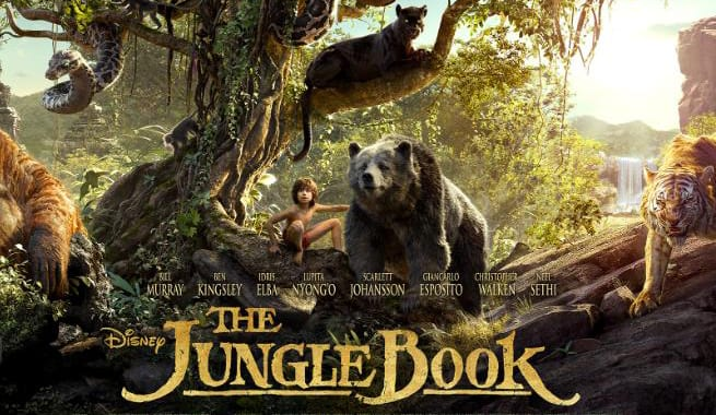 beauty and the beast- jungle book