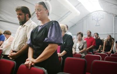 Amish Worship Service