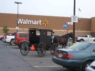 Amish at Walmart