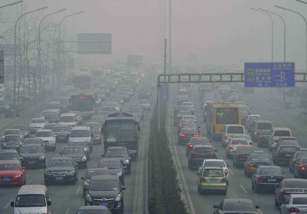 chinese pollution cars