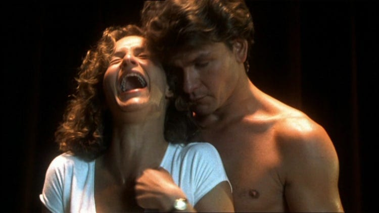Image result for dirty dancing tickling