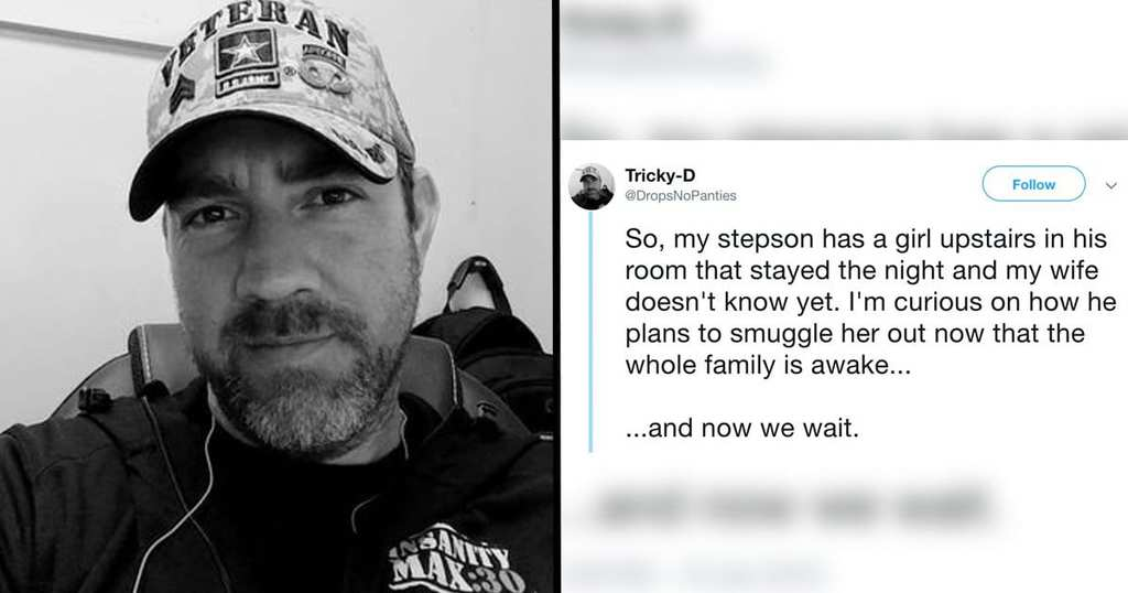 This Hilarious Step-Dad Live-Tweeted His Son Trying To Sneak A Girl Out Of The House Tweet-7