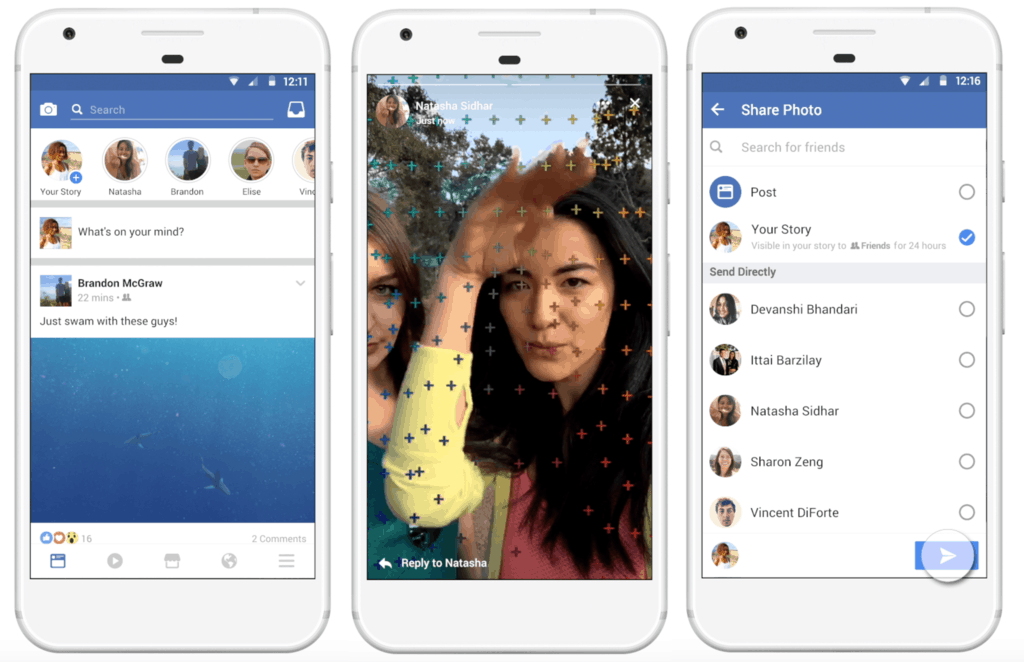facebook- stories app