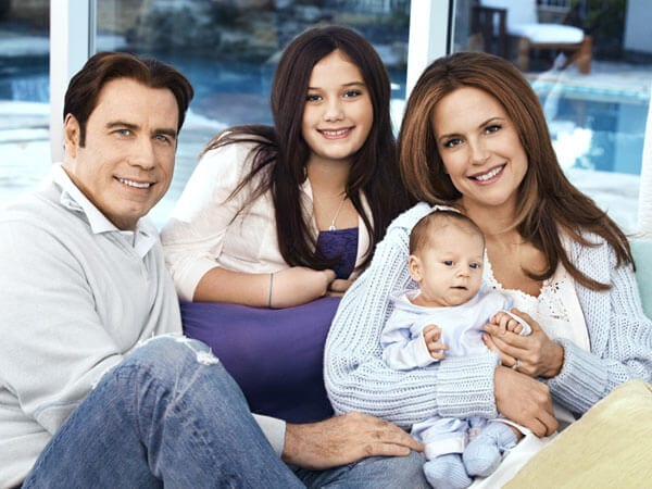 John Travolta Opens Up About Family Life For The First Time