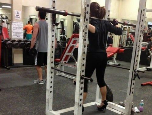 hilarious photos taken at the gym