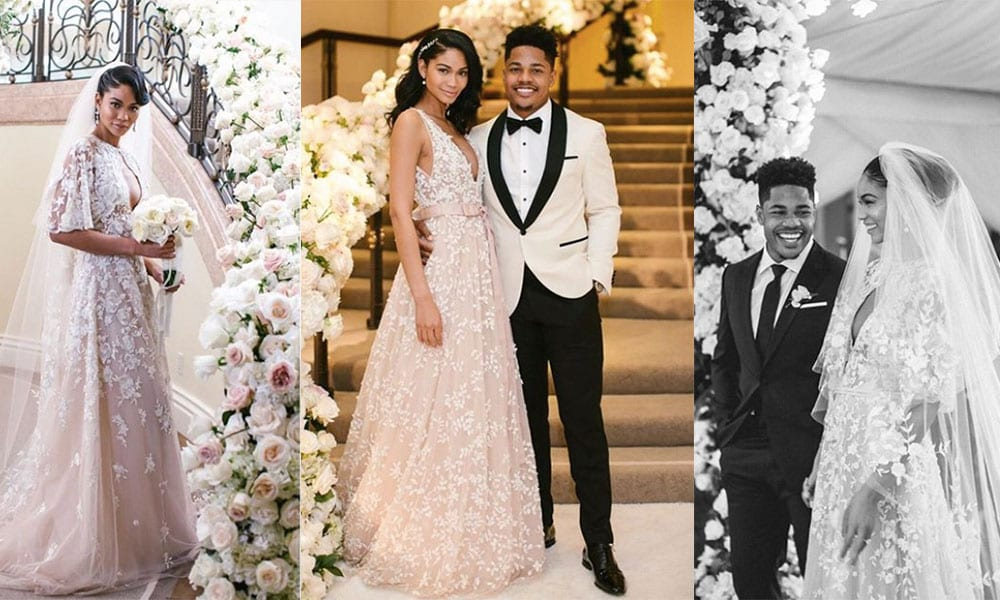0add2f84667 The Most Stunning Celebrity Wedding Dresses Of All Time