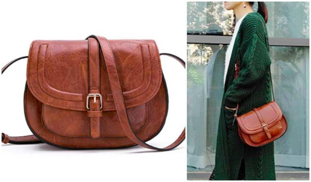 Ladies Handbag Womens Vintage Leather Handbags Personality Portable Round Simple Cross Body Shoulder Bag With Strap Geometric Hardware Everyday Weekend Bag Top Handle Bags Color : Black