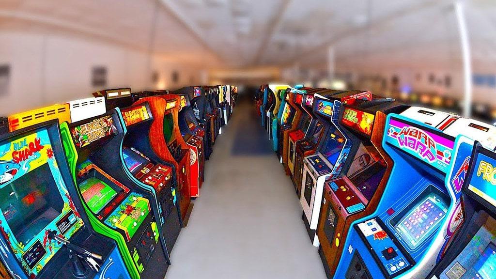 arcade games club