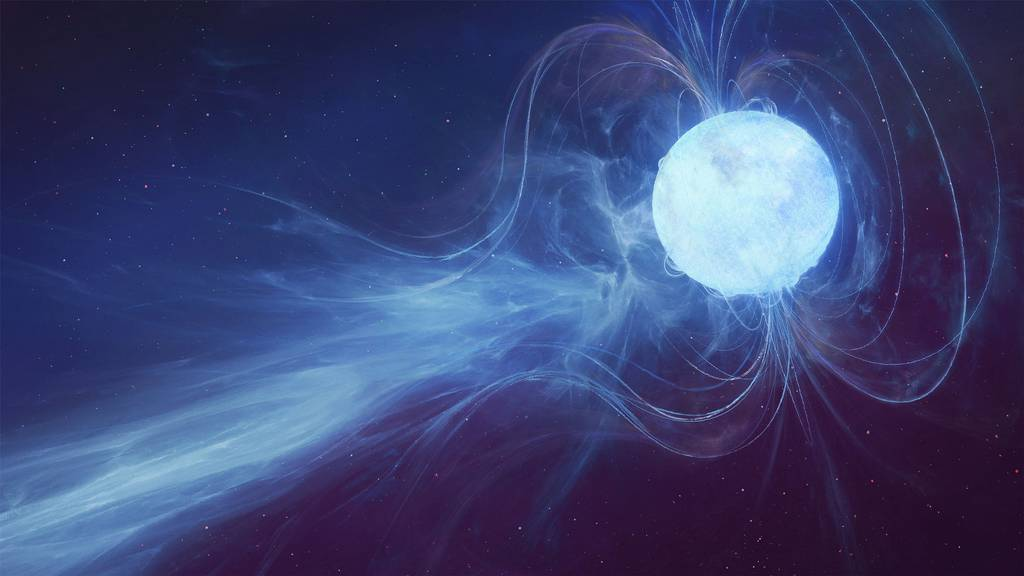 A Powerful Flare From a Magnetar Was Tracked to Its Source