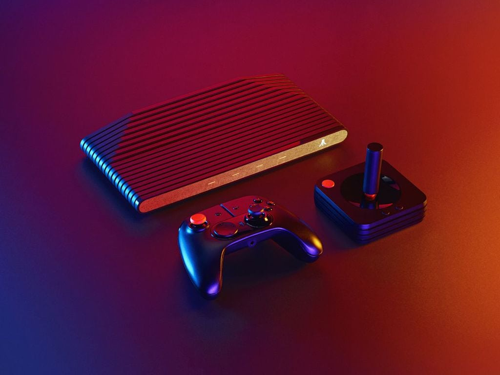 The Atari VCS Console