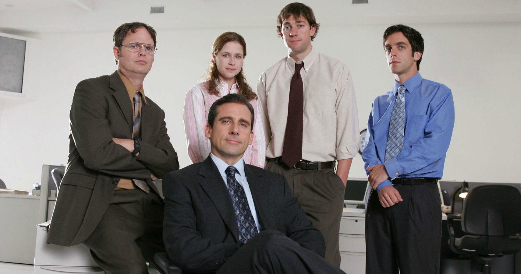 Part of the main cast of the TV show, The Office.