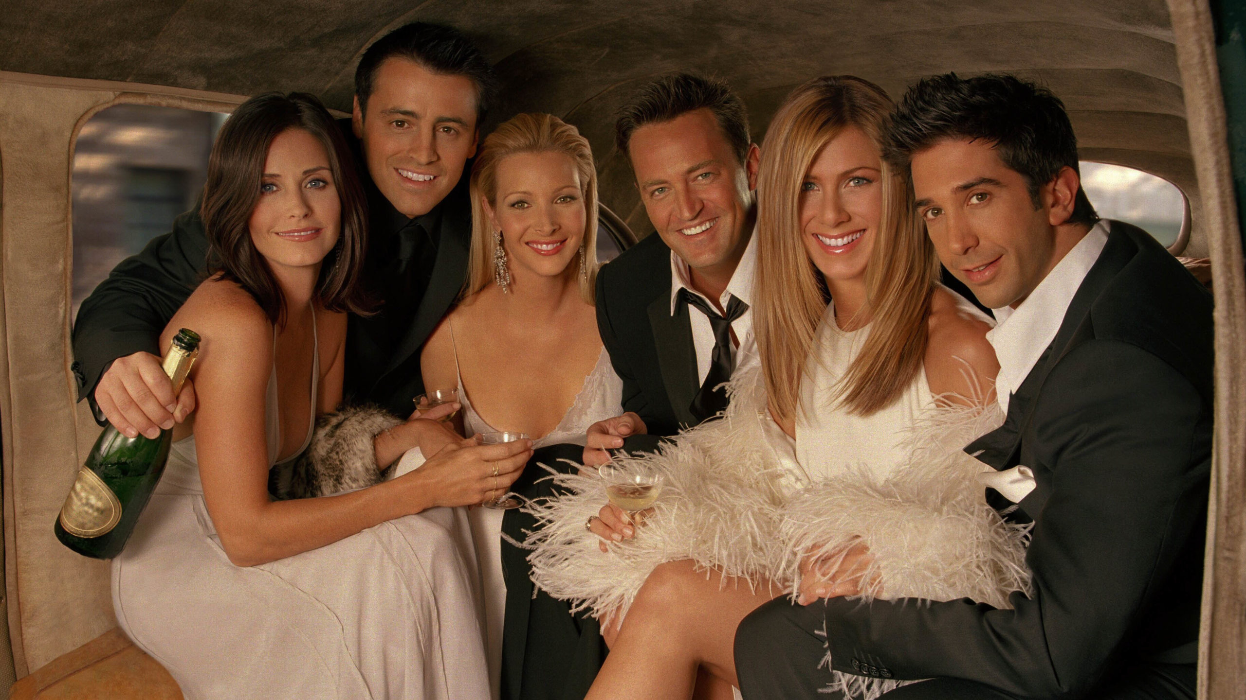 The main cast of the TV show, Friends.