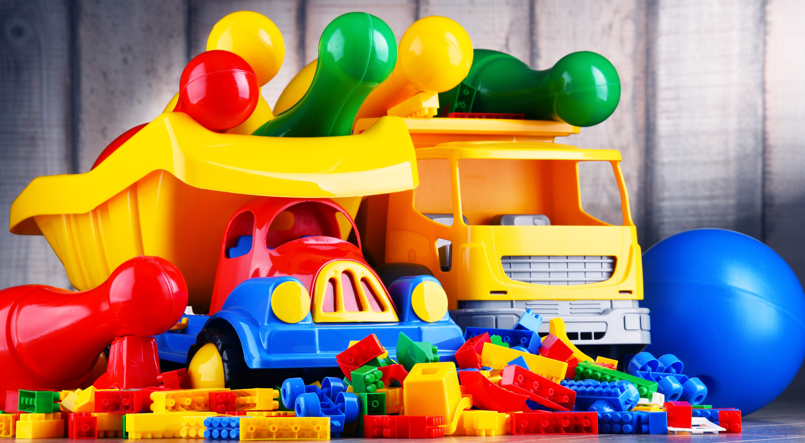 New Study Finds Potentially Harmful Chemicals in Plastic Toys