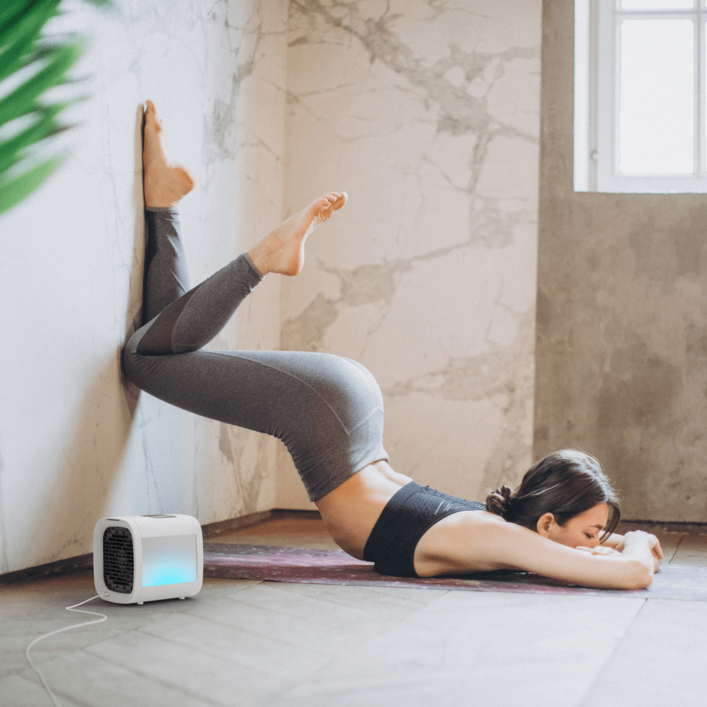 Nordic Hygge Airchill is great for yoga and home exercising