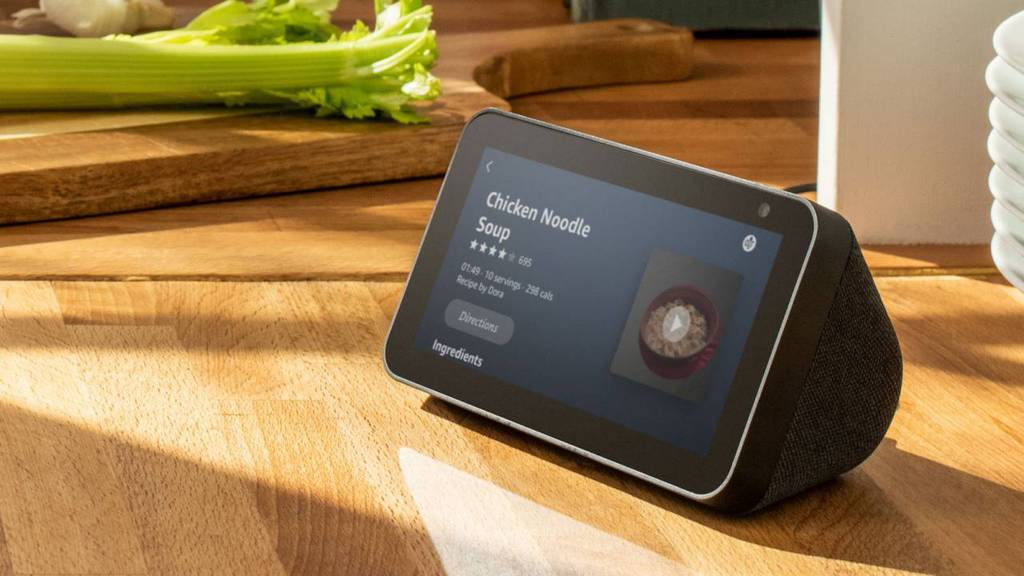 The Echo Show 5 Audio Device Has a 5.5 Inch Screen